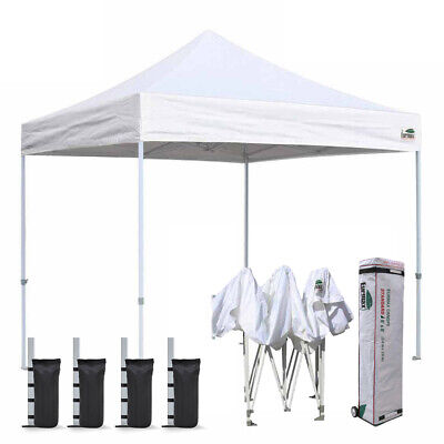 $169.95 • Buy Ez Pop Up Canopy 8x8 Outdoor Patio Tent Instant Sport Shelter Camping Gazebo