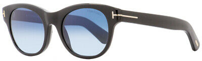 0127b3d468 New Tom Ford Alley Black Frame Blue Gradient Oval Classic Sunglasses Tf532  01w • 79.99