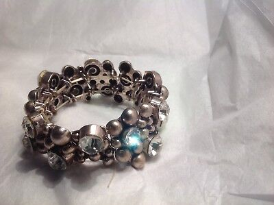 $ CDN35.32 • Buy Vintage Rhinestone Bracelet...lots Of Bling!