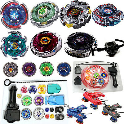 £13.99 • Buy Beyblade 4D Metal Master Fusion Top Rapidity Fight Launcher Grip Set Kids Toy
