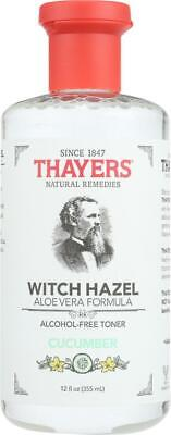 $20.46 • Buy Thayers-Witch Hazel With Aloe Vera Cucumber, Pack Of 2 ( 12 Oz Bottles )