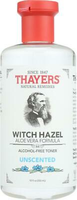 $20.46 • Buy Thayers-Witch Hazel With Aloe Vera Unscented, Pack Of 2 ( 12 Oz Bottles )