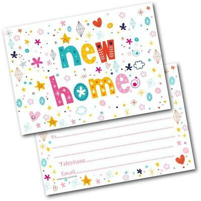 New Address Cards New Home Postcards Letters Pack Of 20 Cards & Envelopes • 4.99£