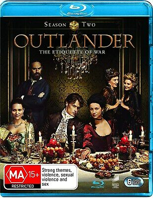 AU27.26 • Buy Outlander Season 2 Series Two Blu-ray Region B NEW