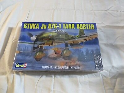 $18.99 • Buy Revell 1:48 Stuka Ju 87G-1 Tank Buster Model Kit 85-5270 SEALED
