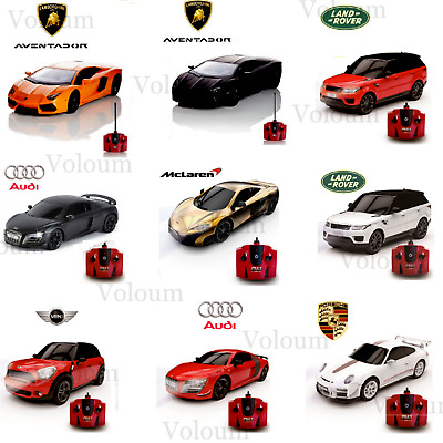 Official Replica Lamborghini Audi McLaren Remote Control Car Toy Gift 1:24 Scale • 13.99£