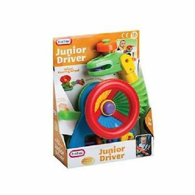 £9.89 • Buy JUNIOR DRIVER CAR Steering Wheel Activity Toy For Buggy Stroller Baby Car Seat