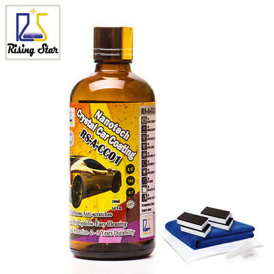 AU67.81 • Buy 9H Liquid Glass Nano Ceramic Car Coating Super Hydrophobic Wax Glass Coating