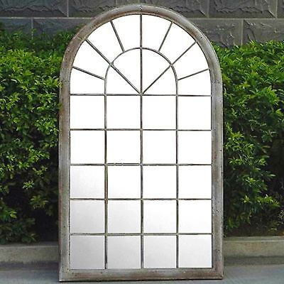 £209.99 • Buy Gothic Rustic Arch Garden Mirror Indoor Outdoor Vintage Romance Glass Wall Large