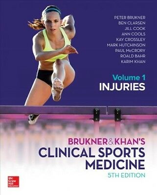 Brukner & Khan's Clinical Sports Medicine Injuries : Injuries, Hardcover By B... • 100.02£