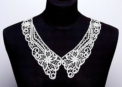 Embroidered Venice Lace Collar (0009) - Sew On Dressmaking  • 2£