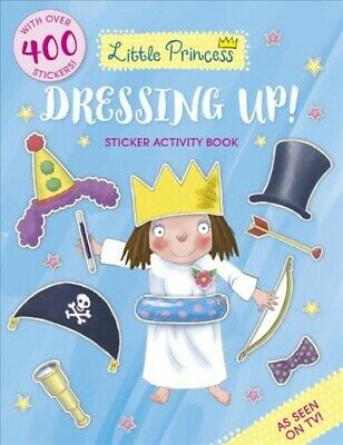 Little Princess Dressing Up! Sticker Activity Book, Paperback By Ross, Tony, ... • 4.88£