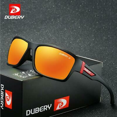 AU10.25 • Buy DUBERY Men's Polarized Sunglasses Driving Outdoor Sport Cycling Glasses New