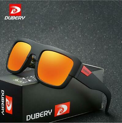 AU10.28 • Buy DUBERY Men Square Polarized Sunglasses Driving Goggles Sport Cycling Glasses