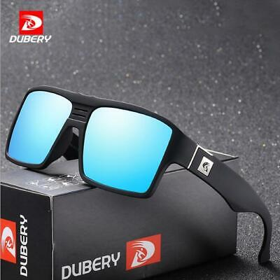 AU10.15 • Buy DUBERY Men Polarized Square Sunglasses Sport Outdoor Driving UV400 Glasses New