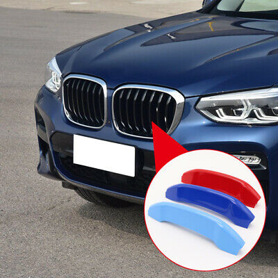 AU20.68 • Buy For BMW X3 G01 2018-2020 M Color Front Center Grill Bar Cover Trim Accessories
