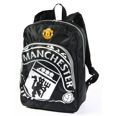 Manchester United Fc Large React Backpack Rucksack School Bag New Xmas Gift • 17.97£