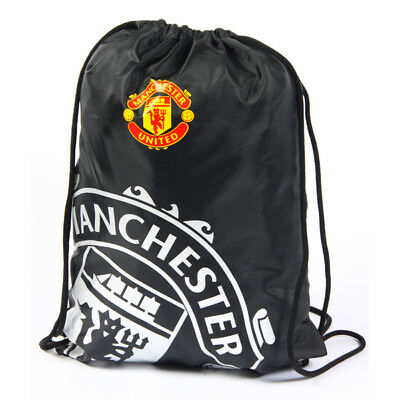Manchester United Fc React Gym Bag Pe School Swimming Sport New Xmas Gift • 8.97£