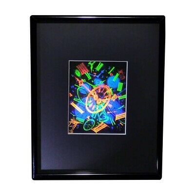 £28.80 • Buy 3D Time (Large) Hologram Picture FRAMED, Collectible EMBOSSED Type Film