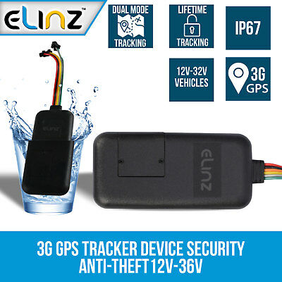 AU114 • Buy 3G GPS Tracker Real Live Tracking Device Security Vehicle Car Anti-Theft Truck