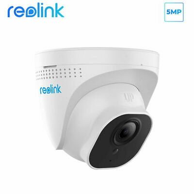 Reolink 5MP HD PoE Security IP Camera Outdoor Dome CCTV IR Night Vision RLC-520 • 49.99£