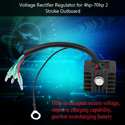 AU23.83 • Buy Easy-installed 2 Stroke 4hp-70hp Outboard Voltage Regulator Rectifier For Yamaha