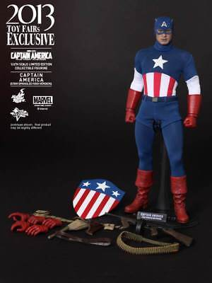 $ CDN304.47 • Buy Hot Toys - Captain America: The First Avenger - 12  1/6 Scale Figure (MMS 205)