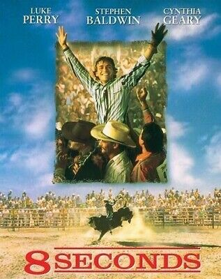 AU34.95 • Buy 8 Seconds DVD Luke Perry - Bull Riding RODEO Movie 1994 - Stephen Baldwin - RARE