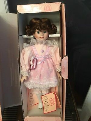 $ CDN24.97 • Buy Design Debut Porcelain Doll Katy With COA / Tag/ Box / Stand