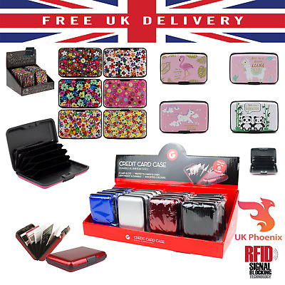 Card RFID Case Credit Blocking Holder Theft Sleeve Anti Secure Protector Wallet  • 2.65£