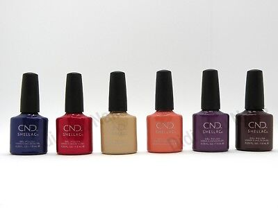 AU94.14 • Buy CND Shellac UV Gel Polish .25 Oz -WILD EARTH COLLECTION FALL 2018 NEW!