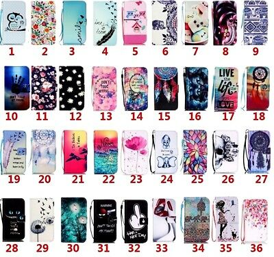 $ CDN7.80 • Buy Luxury Flip Wallet Leather Case Card Holder For Samsung S20 A40/A50/A70
