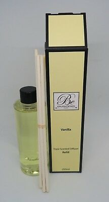 AU37.99 • Buy Be Enlightened~diffuser Refill 200ml~triple Scented ~vanilla Free Shipping