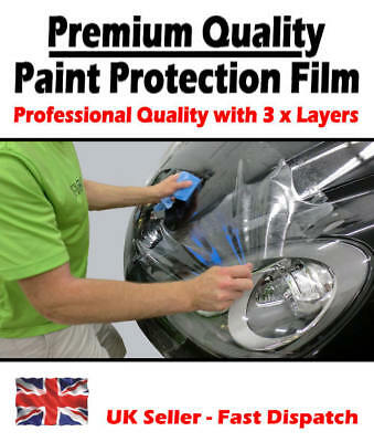 £3.90 • Buy Clear Transparent Gloss Car Paint Protection Film - Car Wrap / Sticker / Sheet