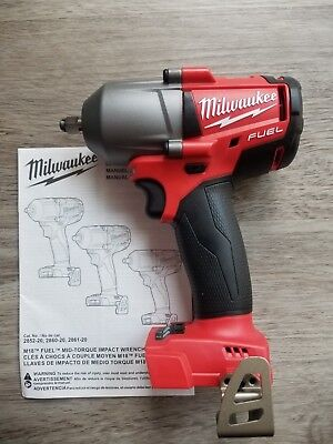 New Milwaukee M18 FUEL 3/8  Drive Mid-Torque 600 Ft-lb Impact Wrench #2852-20 • 194.22$