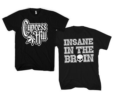 Officially Licensed Cypress Hill - Insane In The Brain Men's T-Shirt S-XXL Sizes • 16.14£