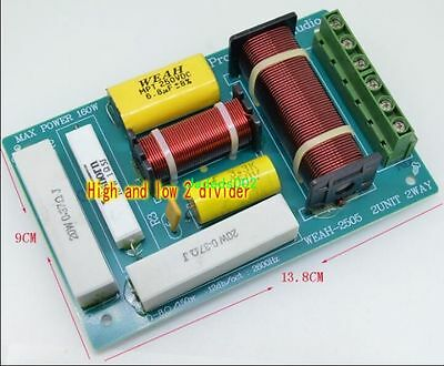 $ CDN22.55 • Buy 200W 2-Way Speaker Frequency Divider Audio Crossover Filters Home Audio Part