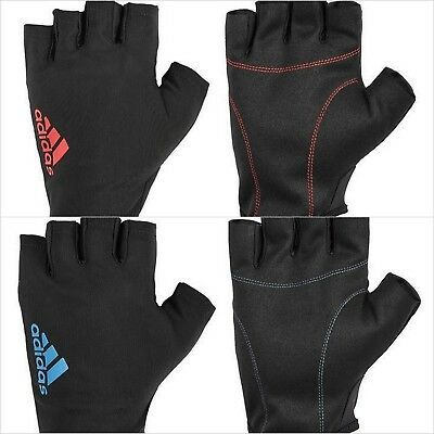 £8.99 • Buy Adidas Weight Lifting Gloves - Essential Adidas Gym Gloves Workout Fitness
