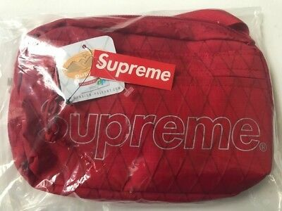 $ CDN253.96 • Buy Supreme New York Red Shoulder Bag FW 18 Week 1 NWT Authentic