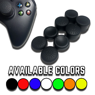 $7.75 • Buy Analog Stick Covers Extenders - PS4, PS3, Xbox One & Xbox 360 8-Pack Thumb Grips