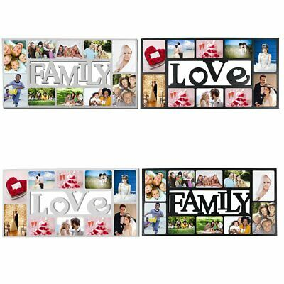 £13.99 • Buy MULTI PHOTOFRAME FAMILY LOVE Picture Frame Collage Aperture Wall Memories