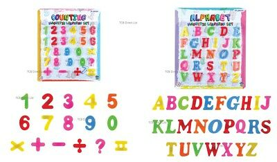 £1.99 • Buy Kids Learning Teaching MAGNETIC Toy Letters & Numbers Fridge Magnets Alphabet