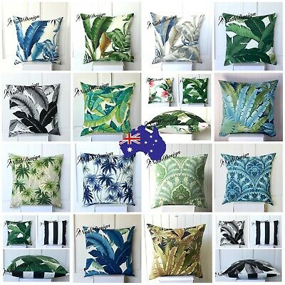 AU25.50 • Buy Tommy Bahama Indoor/Outdoor Tropical Palm Leaves Cushion Covers