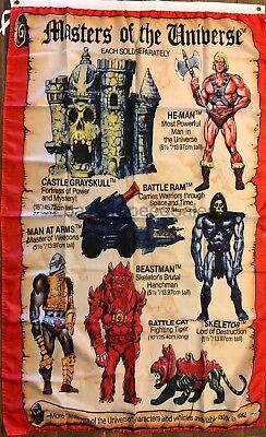 $18.75 • Buy He-Man Flag 3x5 Masters Of The Universe Mini-Comic Banner Character Toy Room