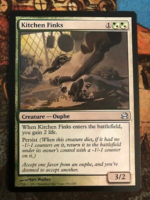 $1 • Buy Kitchen Finks   Modern Masters   MTG Near Mint
