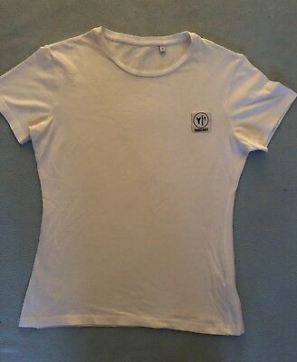 Young Ones White T-shirt With Logo- Size M (Womens) • 10£