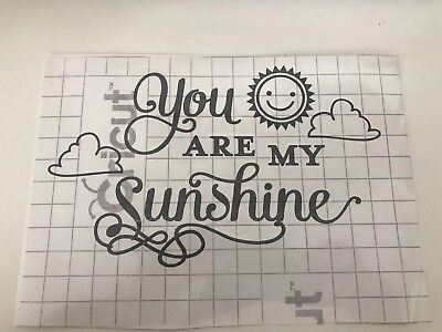 £3 • Buy 🌞 You Are My Sunshine🌞 Sticker Vinyl Art Decals Various Colours Available 😍