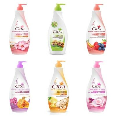$ CDN27.84 • Buy Citra Hand & Body Lotion Moisturizers White UV Nourished Pearly Firming Natural