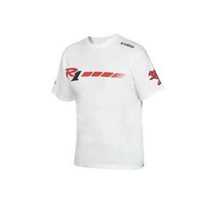 Official 2018 YZF-R1 20th Anniversary Men's White T-shirt • 20.69£