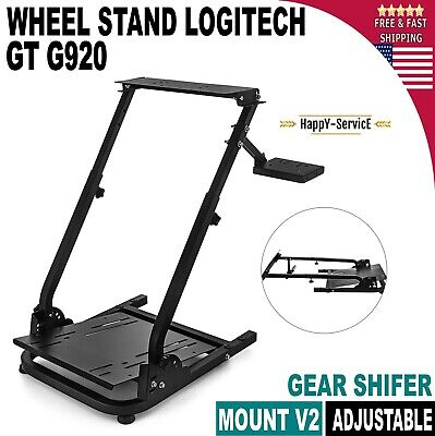 Racing Simulator Steering Wheel Stand Fits For G27 G29 PS4 G920 T300RS T80 • 58.16£